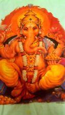 Ganesh / Ganesha - T-Shirt / White Short Sleeve Adult Size Small ( gently used )