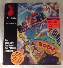 RARE 1990 Ad Lib Music Synthisizer ISA Sound Card Vintage Retro Computing HTF
