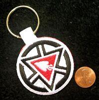 ORDER OF THE ARROW FLAP NOAC 2015 OA 100TH CENTENNIAL LOGO PATCH KEY RING CHAIN
