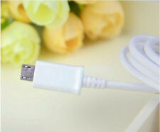 Original EU Wall Charger+USB Data Cable Fit SamSung Galaxy Note 2 II N7100 S4 S3