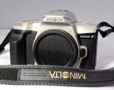 Usado Minolta Cámara con Película Maxxum 3 SLR Solo Carcasa Flash Integrado ( Sn