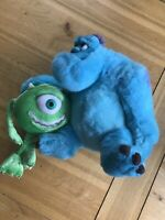 "Disney Monster Inc Sully & Mike Plush Soft Toy Walt Disney World 12"" Money Box"