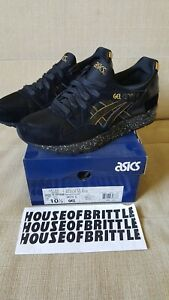 Asics Gel Lyte V Atmos NYC Black And Gold Size 10.5