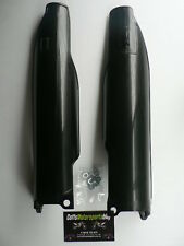 Kawasaki KLX450-R 2009 2010 Black Fork Guards Protectors Covers KXFNR0006