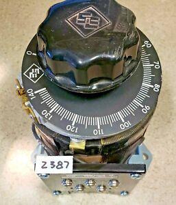 Superior Powerstat 116B AutoTransformer 120VAC 10A 1.4KVA