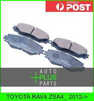 Fits TOYOTA RAV4 ZSA4_ Brake Pads Disc Brake (Front)