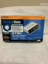 LINKSYS SD205 5-Port Ethernet Hub Internet 10/100 Network Switch