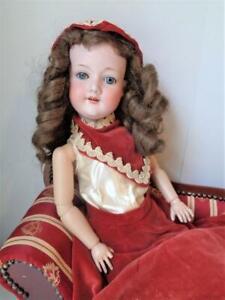 "24"" Armand Marseille #390 A.M. 7 1/2 Antique German Bisque Doll"