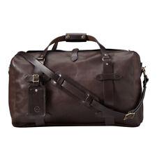 Filson Medium Weatherproof Leather Duffle Bag 11070397 Sierra Brown 70397