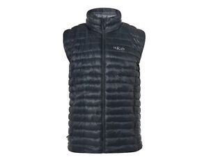 Men's Rab Altus Insulated Gilet / Vest - Size XL - Beluga / Zinc BNWT