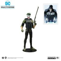 DC MULTIVERSE BATMAN: WHITE KNIGHT THE JOKER DC REBIRTH 18CM ACTION FIGURE