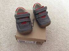 Boys Clarks Shoes Size 4G