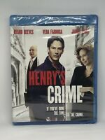 "Henry's Crime Blu-ray ""If You've Done Time, Do The Crime"" Brand New Sealed"