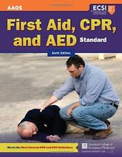 Standard First Aid, CPR, And AED by American Academy of Orthopaedic Surgeons (AA