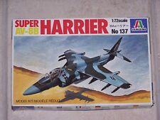 Maquette SUPER HARRIER AV-8B ITALERI 1/72ème