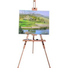 Folding Wooden Tripod Artist Sketch Oil Painting Easel Stand Studio Art Craft