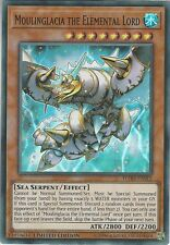 Yu-Gi-Oh: MOULINGLACIA THE ELEMENTAL LORD - FLOD-ENSE2 - Super Rare - Limited Ed