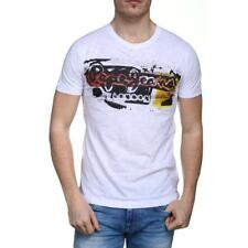 T shirt Pepe jeans manches courtes homme AMERSHAM PM504034 White