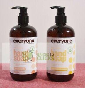 EO Everyone Everyone Hand Soap Apricot Vanilla & Meyer Lemon + Mandarin Lot x2