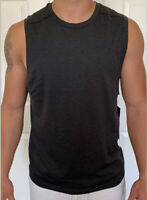 Lululemon Mens Size L Metal Vent Tech Sleeveless 2.0 Gray Black DCO/BLK Tank Run