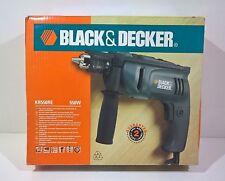 Black & Decker trapano a percussione reversibile Kr550 550w 230v Hammer Drill