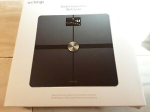 Withings Body - Weight & BMI, Body Fat, Muscle. Multi UsersWi-Fi Scale - . VGC.