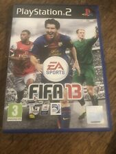 FIFA 13 PS2 PlayStation 2 Video Game Good condition inc manuals