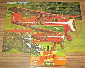 'DICK BARTON Special Agent' Jigsaw Puzzle 1979 by Whitman - Complete