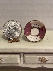 Vintage IGMA Artisan RON BENSON 89' Decorative Bowl Dollhouse Miniature 1:12