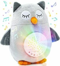 Crib Soother Plush Night Light Cry Detector W/ 10 Lullabies & White Noise