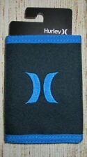 MENS HURLEY BLUE TRIFOLD WALLET