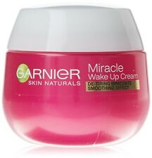 2x Garnier Miracle Anti Ageing Wake up Face Cream 50ml
