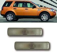 SMOKED SIDE REPEATERS INDICATORS for: LAND ROVER FREELANDER2