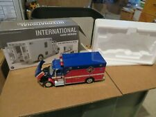 1st First Gear International 4400 Series w EMS/Rescue Body Truck & Engine Corp