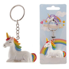 Novelty Unicorn Rainbow Keyring - Cute Key Chain Gift KEY 63