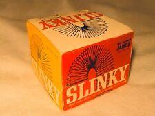 VINTAGE ORIGINAL UNOPENED!! 1960s SLINKY TOY WALKING SPRING, ORIGINAL BOX!