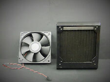 Koolance HX-422, 1x120mm 18-FPI Aluminum Radiator w/ Fan AFB1224SH DC Brushless