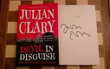 Devil in Disguise SIGNED Julian Clary Hardback Book 1st edition 1st impression