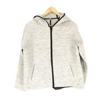 Lululemon Going Places Jacket Heathered Grey Women's 8 Full Zip Hooded