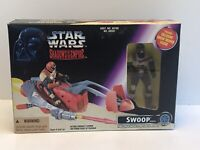 Star Wars Shadows Of The Empire Swoop Vehicle And Trooper Action Figure 1996 Nib