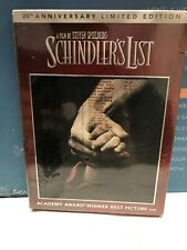 📌 Schindler's List 20th Anniversary Limited Edition New Dvd Digital