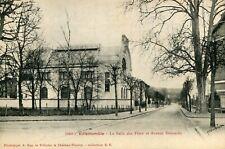 Carte VILLEMOMBLE La Salle des Fêtes et Avenue Detouche