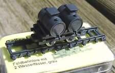 Lanz Feldbahnlore mit 2 Wasserfässer  - von Saller 1:87