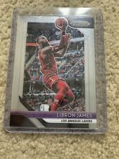 2018-19 Panini Prizm LeBron James los Angeles Lakers Gema menta tarjeta