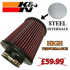 """LARGE UNIVERSAL AIR FILTER 76mm 3"""" BHP Performance Induction Ram"""
