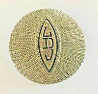 Antique Art Deco Sterling Silver Marcasite Brooch Pin Pristine Condition