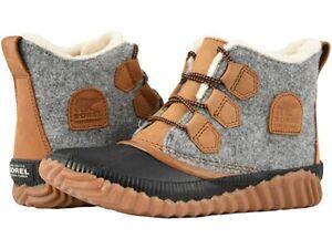 Sorel Out N About Plus Felt-Quarry Rain Women's Boot - NEW - Choose Size