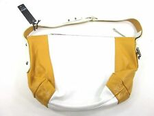 LATICO, MINGUS 8563 SHOULDER BAG, METALLIC WHITE/ GOLD, ONE SIZE, LEATHER, NEW