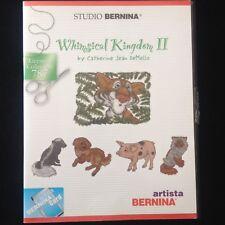 Bernina Embroidery Designs Card #787 Whimsical Kingdom 2 for Artista Series