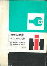 International Tractor 955 955XL 1055 1055XL 956 956XL 1056 1056XL Trans Manual